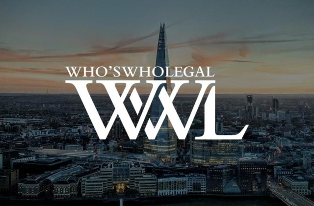 Paul Nicholls again recognised in the Who's Who Legal Asset Recovery Guide